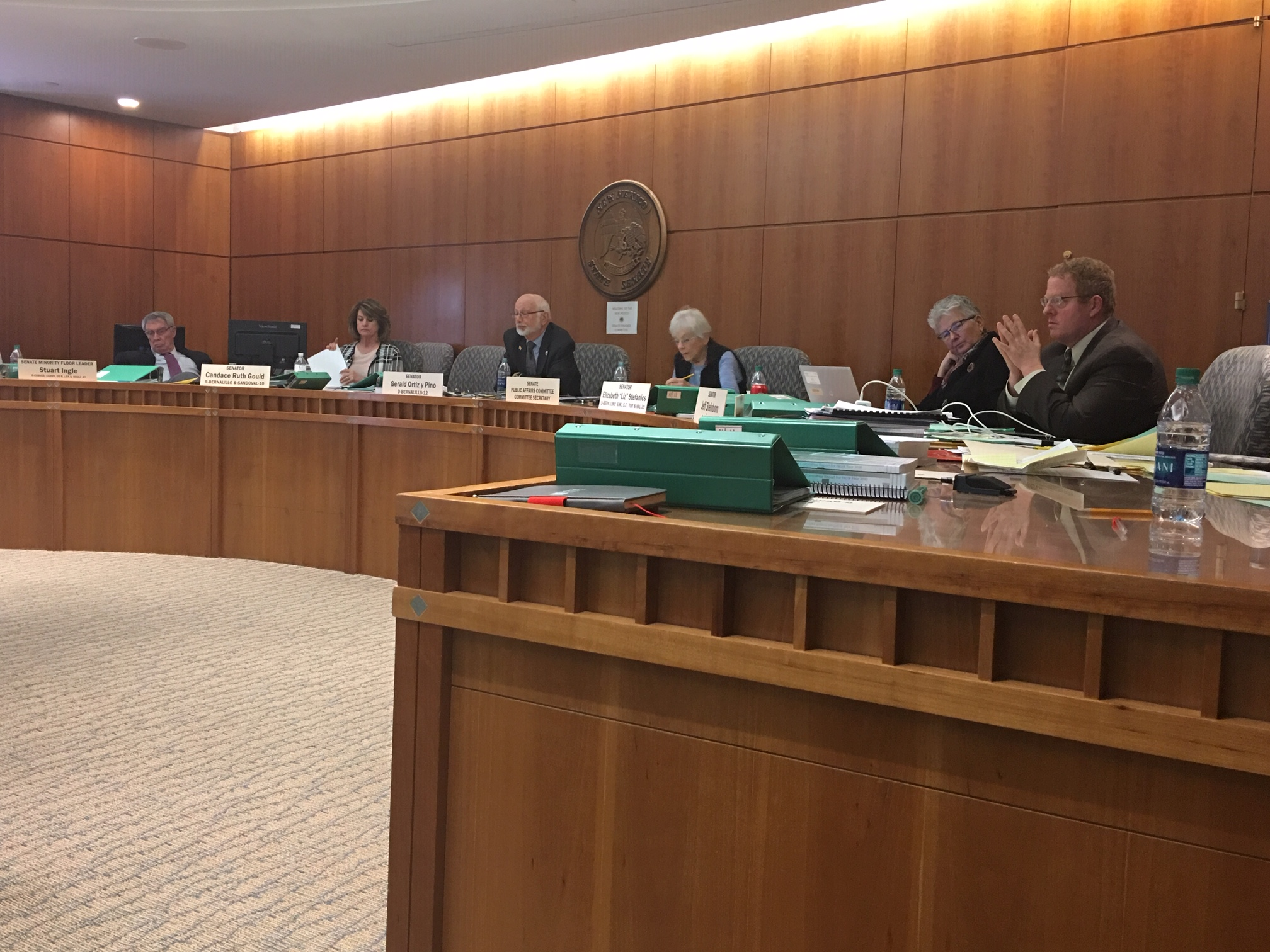 Senate Committee Schedule: March 13, 2019   New Mexico
